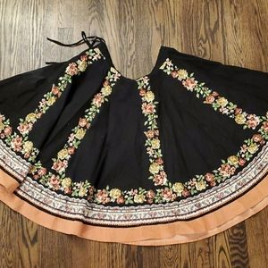 Lux Skirts - Sequined boho circle skirt